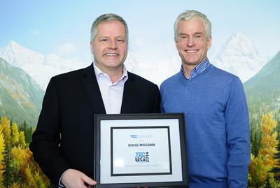 Doug McCann Keynote speaking 2014 Canadian Speaker Award Recipient