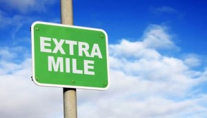 Going that extra mile - leadership from Frontline leadership Vancouver British Columbia